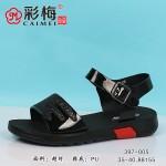 397-005 黑 韩版休闲百搭女凉鞋
