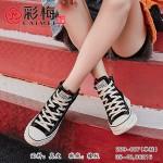 289-007 黑  韩版休闲百搭女单鞋