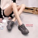 345-081 灰 【超柔内里】 百搭时尚厚底网红鞋
